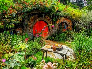 Sold Red Hobbit Door