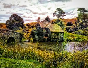 Sold - Hobbiton Mill And Bridge